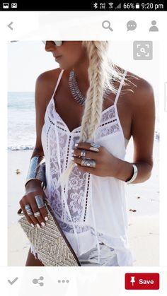 8d587aba5ff Lace #Crochet Tank Top #bohochic #bohemianstyle #gypsysoul #ootdmagazine  #ootdfashion #fashionista @ BMEssentials.com (Lin… | Boho Chic by  BMEssentials in ...