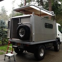 Off Road Rv, Off Road Camping, Pop Up Truck Campers, Camper Trailers, Land Rover Camping, 4x4, Mercedes Benz Unimog, Adventure Campers, Bug Out Vehicle