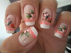 For all of you looking for summer nails ideas, we have selected 20 adorable butterfly nail art designs to inspire you. Butterflies on the nails are Girls Nail Designs, Cute Nail Designs, Butterfly Nail Art, Flower Nail Art, Christmas Nail Designs, Christmas Nails, Trendy Nails, Cute Nails, Airbrush Nails