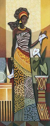 This Pin was discovered by Nac African American Art, African Women, African Fashion, African Beauty, Black Women Art, Black Art, Indian Women Painting, Art Afro, African Quilts