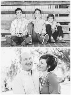 Adult family portrai