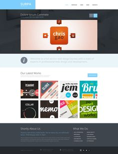 Design Studio Responsive WordPress Theme New Screenshots BIG