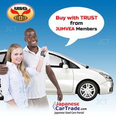 #JUMVEA  Buy with trust from JUMVEA members at JapaneseCarTrade.com