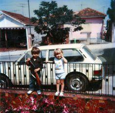 thug life vila alpina. eu e meu primo na casa da minha avó