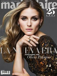 The Olivia Palermo Lookbook : Olivia Palermo For Marie Claire Mexico