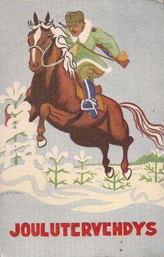 Finnish Cavalry Christmas Wishes