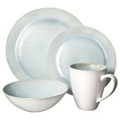 Target.com Threshold™ 16 Piece Dinnerware Set - Reactive Aqua