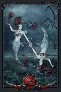 immortalstalker:    Gothic Zodiac: Pisces