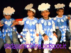 Rain Costume, Olaf Costume, Cute Costumes, Halloween Costumes, Carnival Crafts, Carnival Masks, Carnival Costumes, Weather Crafts, Kids News