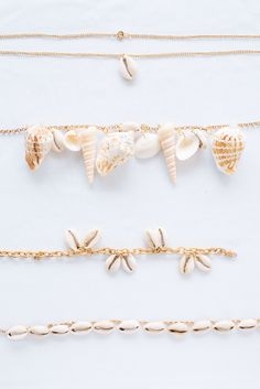 Shell necklace diy - Make This Simple Shell Jewellery – Shell necklace diy Girls Jewelry, Jewelry Accessories, Fine Jewelry, Jewelry Design, Jewelry Making, Silver Jewelry, Crystal Jewelry, Jewelry Art, Gemstone Jewelry