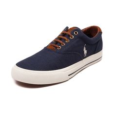 Shop for Mens Vaughn Casual Shoe by Polo Ralph Lauren, Navy, at Journeys  Shoes