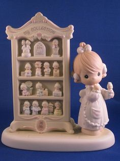 A Perfect Display Of 15 Happy Years   Precious Moment Figurine