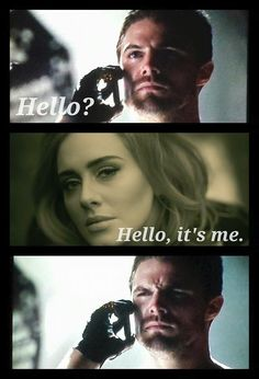 This just might be my favorite Arrow meme ever.