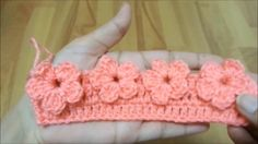 Resultado de imagen para crochet stitch flower tutorial