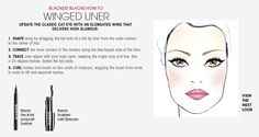 Fall Trend: Blackest Blacks Winged Liner HOW TO. #Sephora #ColorVision