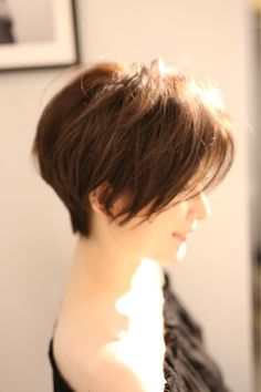"""Side Silhouette is important """"friend Bob"""" is. Bad Hair, Hair Day, Cabello Hair, Mom Hairstyles, Short Bob Haircuts, Hair Affair, Silhouette, Short Hair Cuts, Hair Inspiration"""