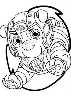 Kids N Fun 24 Kleurplaten Van Paw Patrol Mighty Pups Ausmalbilder Malvorlagen Malbuch Vorlagen