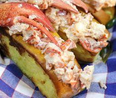 Woodman's lobster roll, Essex MA: http://www.visitingnewengland.com/best-lobster-roll-new-england.html #lobsterroll
