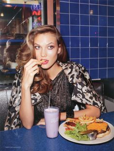 for Vogue shot by Terry Richardson