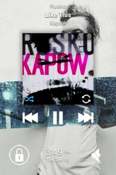 """Like This"" by Rusko from the New EP ""Kapow"""