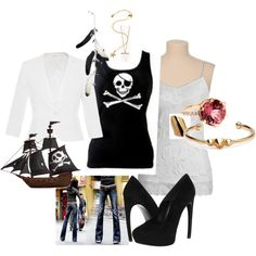 """""""Pirate Outfit"""" by michelle6111 on Polyvore"""