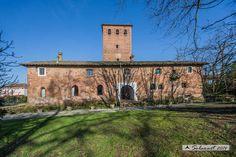 castello di sant'alessio con vialone pavia