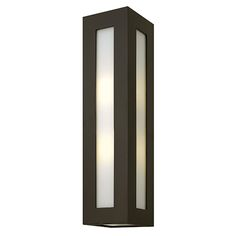 Dorian Bronze Two Light Outdoor Wall Light