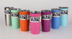 """Teacher Gifts? Don't forget we sell #Yeti""""s!   Our prices beat most by approx. $10 each! We can also personalize them! Ask about package prices!  20oz & 30oz available!"""