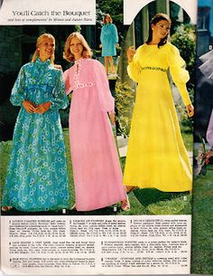 Kathy Loghry Blogspot: That's So 70s: Say Yes to the Dress - Part 4!!