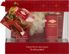 Mandara Spa Tropical Blooms Spa Luxuries