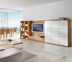 Luxury contemporary storage system