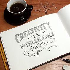 """Top 100 einstein quotes photos """"Creativity is intelligence having fun."""" - Albert Einstein #creativity #intelligence #fun #creative #alberteinstein #einstein #einsteinquotes #art #life #quotes #quoteoftheday #quote See more http://wumann.com/top-100-einstein-quotes-photos/"""