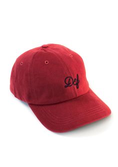 Chain Logo Magee Cap Red / Navy