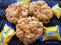 Butterfinger Oatmeal Cookies