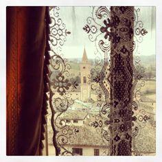 Caldarola (MC) dalle finestre del Castello Pallotta - Marche, Italy