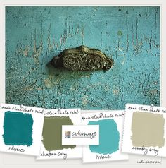 Inspired by Turquoise | Colorways with Leslie Stocker