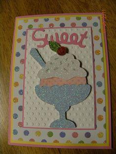 Cricut Card using Celebrations Cartridge