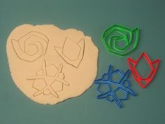 Ocarina of Time Sacred Stones Cookie Cutter Set / by Francesca4me