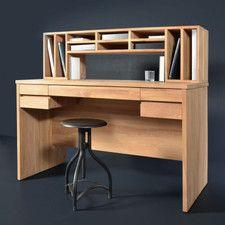 Schreibtisch Milano mit 5 Schubladen und Ablagen