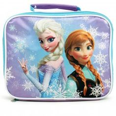 Disney Frozen Anna and Elsa Lunch Bag