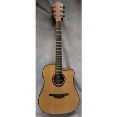 Lag Guitars T66DCE Acoustic Electric Guitar Natural
