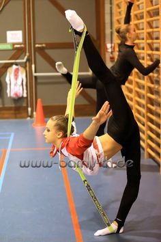 backstage rhythmic gymnastics