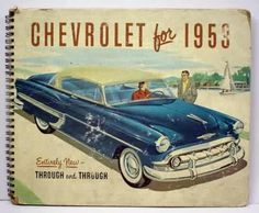 1953: Chevrolet booklet