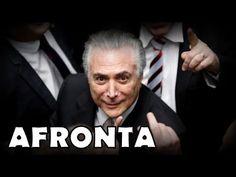 Michel Temer afronta brasileiros e escancara as portas do Brasil para Sí...