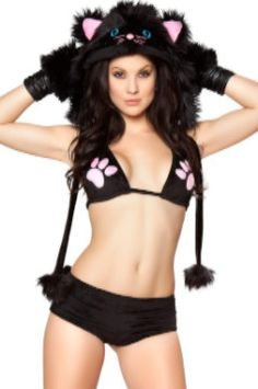Enter to Win an Enticing Feline Black Cat Halloween Costume ~ Value $220.00