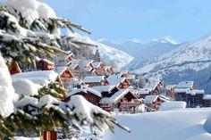 Meribel Valley displays its winter coat credit JM Gouedard Meribel Tourism