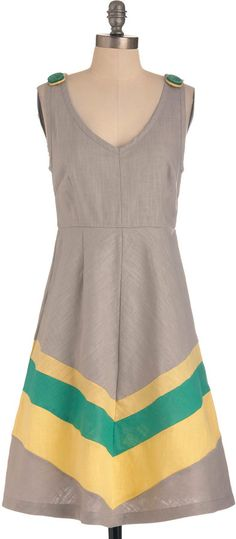 Beauty by the Bay Dress in Grey at ShopStyle