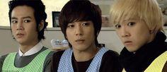 A.N.Jell from You're Beautiful  Jang Keun-suk as Hwang Tae Kyung, Jung Yong-hwa as Kang Shin Woo, Lee Hongki as Jeremy