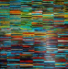 """DNA Landscape, 48"""" x 48"""", 2014"""