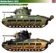 Infantry Tank Mk.II Matilda Mk.II